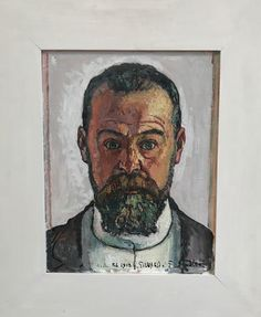 Ferdinand Hodler, Autoportrait on ArtStack #ferdinand-hodler #art
