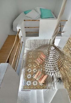 Gorgeous bedroom loft