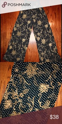 Urban Outfitters High Waisted Flowy Pants Urban Outfitters high waisted flowy pants - size S fits size S/M waistband is elastic and very comfortable!! No trades xx Urban Outfitters Pants