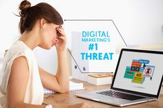Ad blockers may deem as a huge threat to digital marketing, but that doesn't scare us. #searchengineoptimization  #webdesign  #socialmediamarketing  #internetmarketing