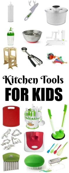 Kitchen Tools For Kids These Kitchen Tools For Kids are perfect for introducing children to the kitchen. Let them get creative, have fun and develop healthy eating habits from a young age!<br> These Kitchen Tools For Kids are perfect for introducing children to the kitchen. Let them get creative, have fun and develop healthy eating habits!