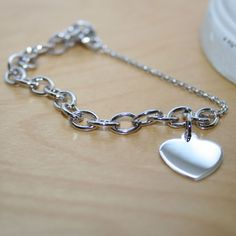 Jewelry & Accessories Bracelets & Bangles Imprint Is Engraved On My Heart Solid Bracelet Women Men Popular Best Chain Fine Jewelry 925 Sterling Silver Necklace With A Long Standing Reputation