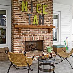 21 Ideas To Bring Home The Beach | On the Porch | CoastalLiving.com