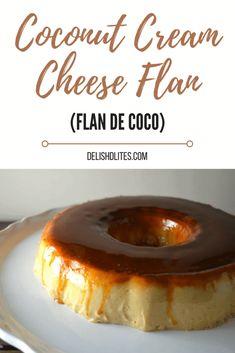 Coconut Flan, Coconut Recipes, Coconut Cream, Baking Recipes, Cake Recipes, Dessert Recipes, Beaux Desserts, Just Desserts, Delicious Desserts