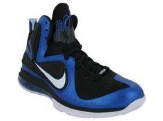 Nike Men's NIKE LEBRON 9 BASKETBALL SHOES 9 (VARSITY ROYAL/WHITE BLACK)  Nike  $155.89