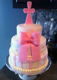 Baptism Cake - By Badabing Cakes