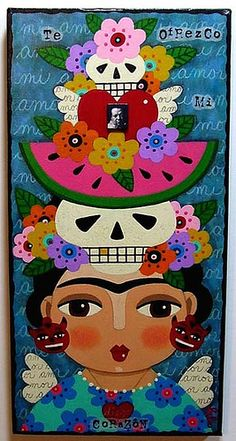 Frida's Ofrenda to Diego