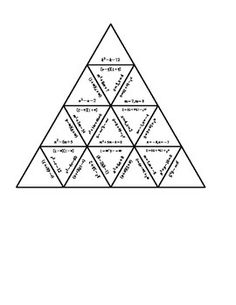 Exponent Rules Tarsia Puzzle | Products, The hexagon and ...