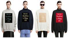 acne beta sweatshirt - Google Search
