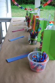 A Little Grace and Mercy: The Art Party | My Little Artists Fifth Birthday