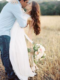 Sweet Marie Designs Blush bouquet // image by Ashley Kelemen Photography