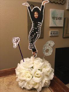 Selena Quintanilla centerpieces