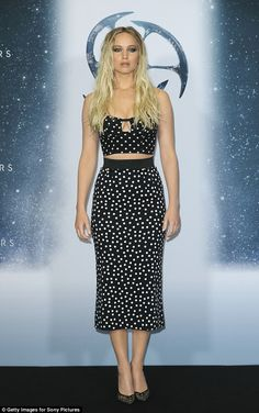 Jennifer Lawrence attended a photocall for Passengers at Hotel Adlon in Berlin on December 2, 2016