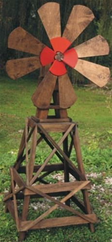 Bring the prairie to your yard with our Prairie Windmill. The Prairie Windmill will add that extra touch. Use our Prairie Windmill Woodworking Plan to build yours.