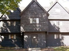 The Witch House of Salem | The only structure still standing in relation to the Salem witch trials #creepy