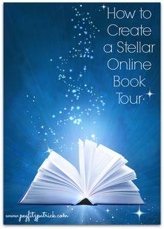 How to Create a Stellar Online Book Tour http://pegfitzpatrick.com/2013/10/21/how-to-create-a-stellar-online-book-tour/