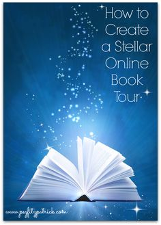 How to Create a Stellar Online Book Tour http://pegfitzpatrick.com/2013/10/21/how-to-create-a-stellar-online-book-tour/