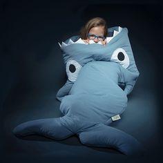 Hot Sale Cute Cartoon Shark Children Sleep Bag Winter Children Sleep Sack Warm Children Blanket Large Warm Swaddle