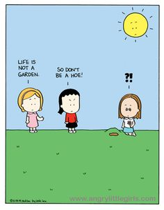 Angry Little Girls by Lela Lee Angry Little Girls, I Hate People, Funny Thoughts, E Cards, Story Of My Life, Girl Humor, Comic Strips, Great Quotes, Asian Girl