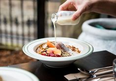 An Asian-fusion cafe from a Sydney chef with a seriously good rep. Sydney Cafe, Acai Bowl, How To Look Better, Asian, Dining, Breakfast, Desserts, Sunshine, Food