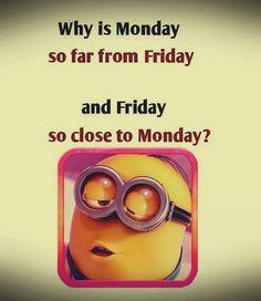 Waktunya kerja di hari Senin