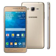 """Smartphone Samsung Galaxy Gran Prime Duos G531H Dourado com Dual Chip, Tela de 5"""", Câmera 8MP, Android 5.1 e Processador Quad Core de 1.3Ghz"""