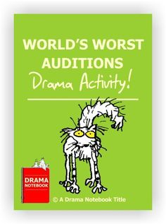 Hilarious original drama activity in which students take turns delivering terrible performances! Two scripts are included.