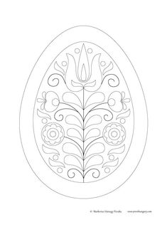 Hungarian Embroidery, Folk Embroidery, Embroidery Designs, Embroidery Flowers Pattern, Free Coloring Pages, Embroidery Techniques, Paper Quilling, Fabric Painting, Craft Gifts