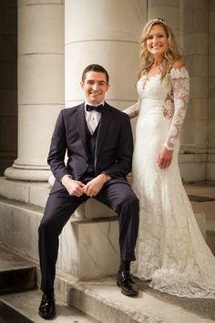 Intimate Elopement Wedding In Winter At Cheesman Park Denver