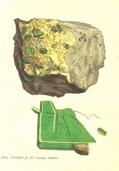 Image taken from page 124 of 'British Mineralogy: or coloured figures intended to elucidate the mineralogy of Great Britain. By J. Sowerby