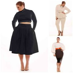 A look at the fall plus size collection from the designer, Jibri and our faves from the collection.