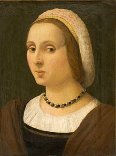 ab. 1523 Vincenzo Tamagni - Portrait of a Lady