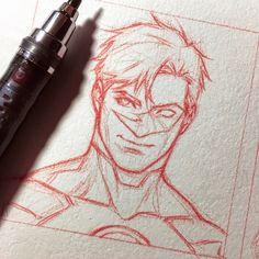 Character Drawing, Character Design, Character Inspiration, Lantern Drawing, Comic Style, Catwoman, Green Lantern Hal Jordan, Arte Dc Comics, Arte Sketchbook