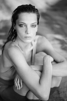 Daria Werbowy By Mathieu Cesar For L'Equipe Sport & Style December 2013