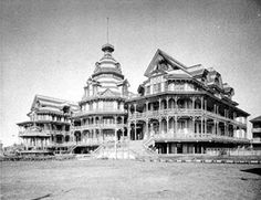 The Beach Hotel It Burned Down A Few Yrs Before Isaac S Storm Hit Galveston