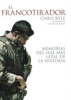 Chris Kyle ha sido el más letal francotirador de la historia de los Estados Unidos, con 160 muertes confirmadas. Nacido en Texas en 1974, su padre le regaló su primer rifle a lo  ocho años. Sus memorias ofrecen una espléndida visión del día a día de la guerra, pero también un análisis de la forma en que una vida desarrollada en un entorno cotidiano de violencia pudo transformarle. Retirado en 2009, Chis Kyle murió trágicamente en febrero de 2013. Chris Kyle: El francotirador (Crítica)