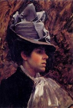 Esther Kenworthy Waterhouse  John William Waterhouse  C. 1885  Oil on canvas