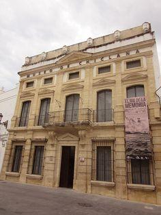 Detalle de la fachada del museo.