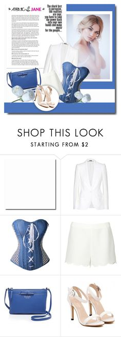 """""""Atomic Jane"""" by janee-oss ❤ liked on Polyvore featuring Alexander McQueen, Valentino, Kate Spade and atomicjane"""