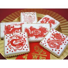 Chinese New Year of the Dragon 2012 Wafer Paper