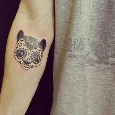 mexican panda tattoo
