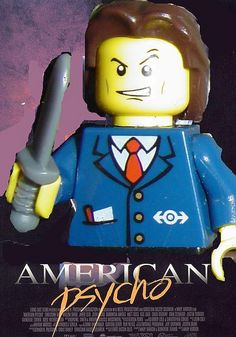 lego american psycho poster | Flickr - Photo Sharing!