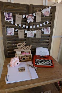 Instaxday fujifilm instax mini 8 #typewriter #bunting