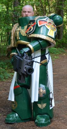 The Making of a Dark Angels Space Marines Cosplay Suit