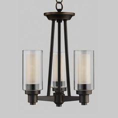 Kichler Lighting Circolo 3-Light Olde Bronze Chandelier