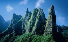 Diadème.  Tahiti