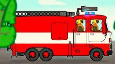 Gros véhicules pour petits enfants - Camion de pompiers Maternelle Grande Section, Fireman Party, Fire Safety, Film, Assemblage, Reception, Audio, Children With Autism, Movie