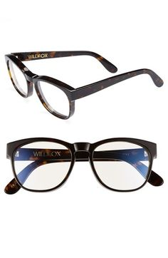Wildfox 'Classic Fox' 54mm Optical Glasses available at #Nordstrom