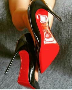 Red heels are symbol of hotness. I love to walk in my red high heels. High Heels Boots, Louboutin High Heels, Christian Louboutin Heels, Black High Heels, High Heels Stilettos, Stiletto Heels, Red High, Black Shoes, Talons Sexy