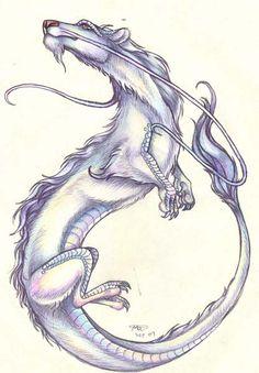 Luckdragon interpretation by who-stole-MY-name on deviantART